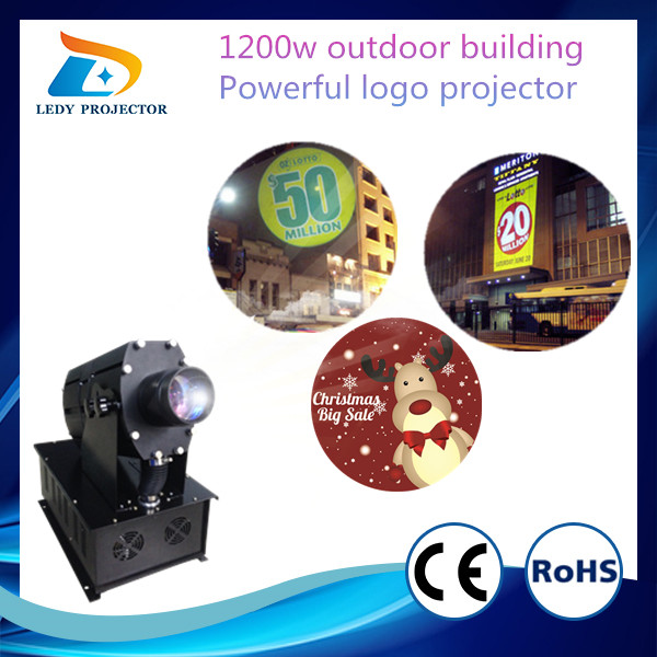 Holiday Festival Advertising Promotion 1200W Six Images Projector decorative projector