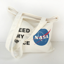 Factory direct, High quality and cheap customize printed cotton tote bag with zipper