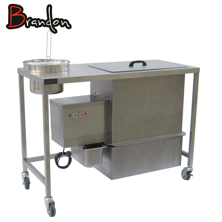 Efficient electrical breading table kitchen equipment
