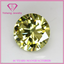 colorful round brilliant cut synthetic cubic zirconia wholesale