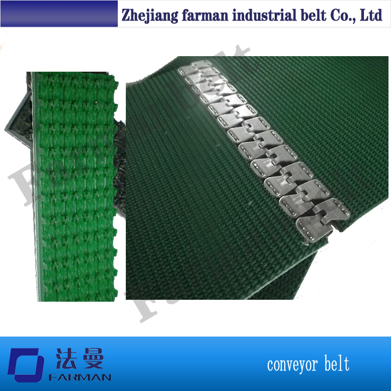 Fastener Splice Rough Top Conveyor Belt