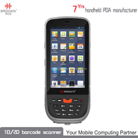 Android 4.4 OS 8GB ROM 1GB RAM Wifi GPS Phone Features Wireless Handheld GSM PDA with UHF scanner
