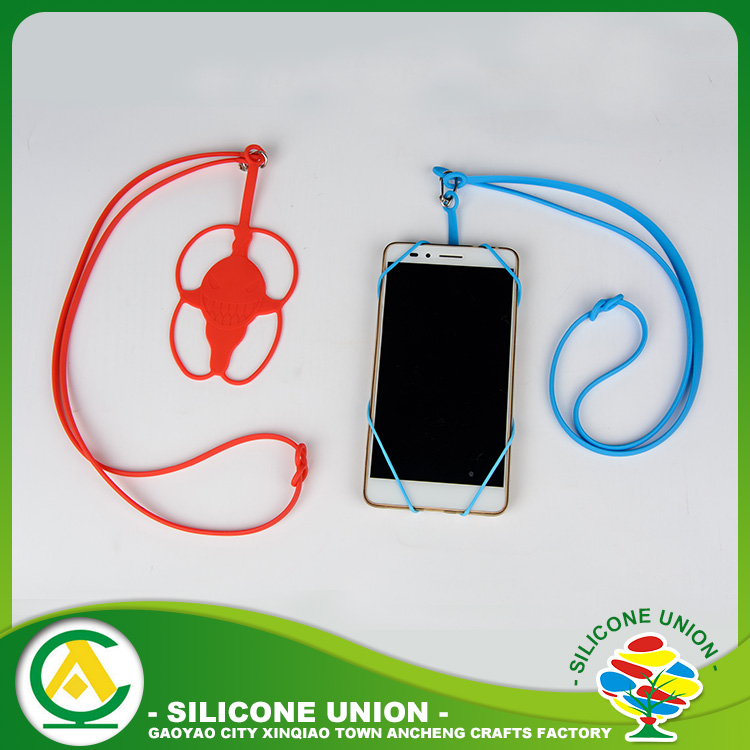 Non-toxic silicone multiple mobile phone holder
