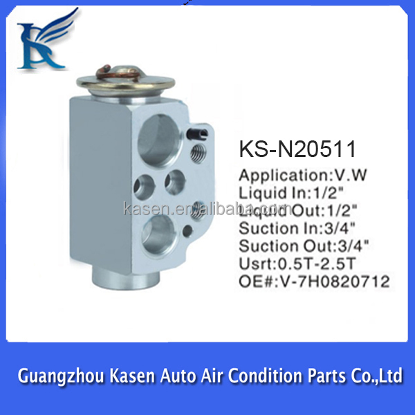 expansion valve for refrigerator for vw