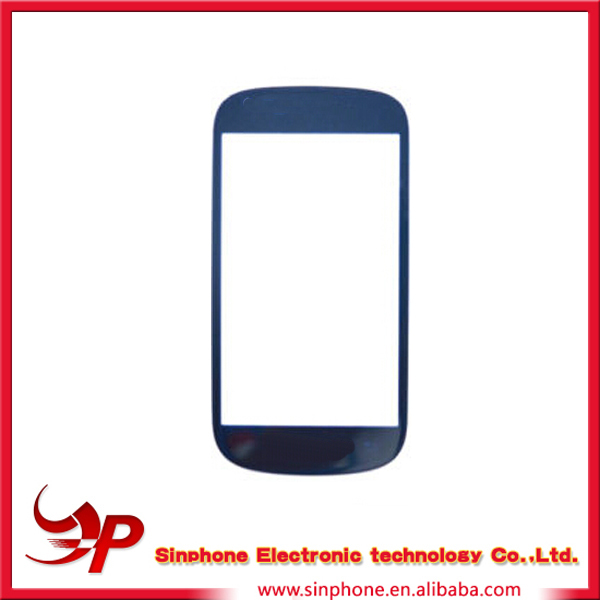 New listing&top quality outer glass for Samsung i8190 Galaxy S3 mini with low price screen lensfront glass replacement