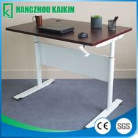adjustable height standing desk in good cost less than 200USD for 1 set