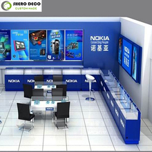modern luxury hot sale mobile phone store decoration for mobile phone store