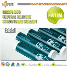 ultraviolet radiation resistance neutral curing acetic natural cure mastics sealant