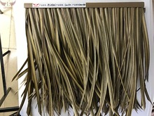 Recyclable anti-UV fireproof tiki hut thatch roofing PE-BYZH8825