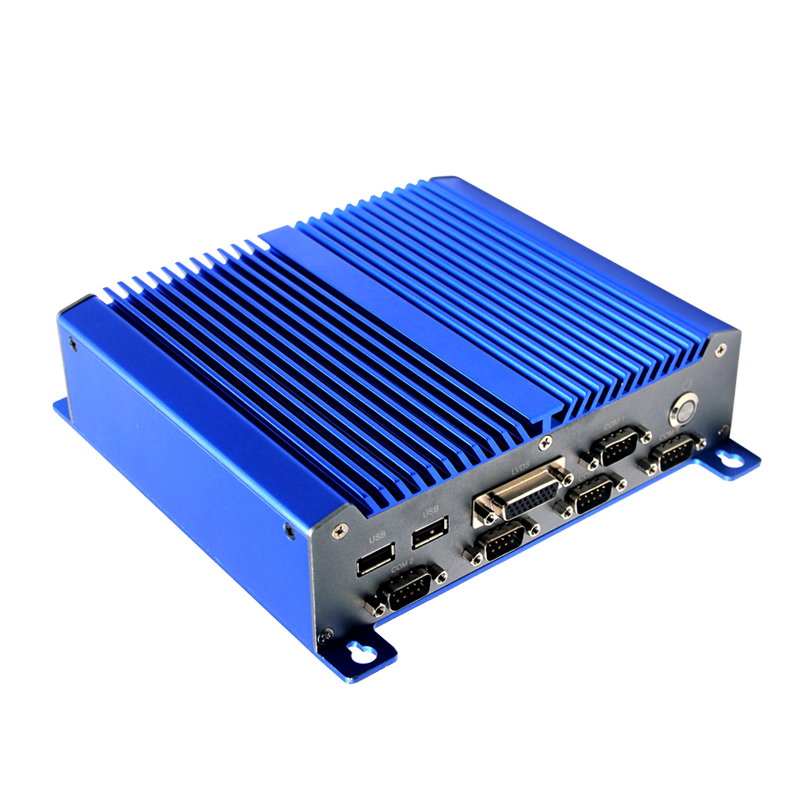 multi lan mini pc fanless with Integrated NM10 chipset Integrated Intel Atom D2550 processor,dual core 1.86G