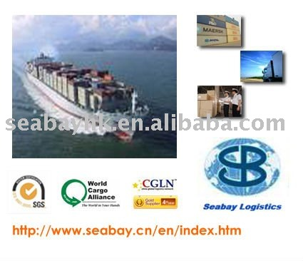 Sea freight/logistics services from China to Canada/USA/European countries