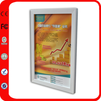 Outdoor Led Poster Lighting Advertising A0 Illuminated Snap Frames