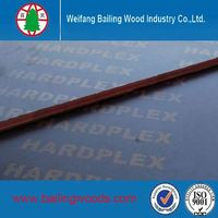 1220*2440mm Film Faced Plywood For Construction Trade