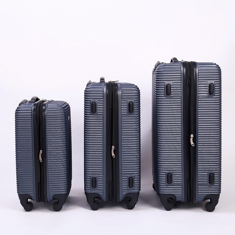 3PCS ABS TROLLEY LUGGAGE SET 3PCS ABS SUITCASE 3PCS TRAVEL CASE SET EXPANDABLE