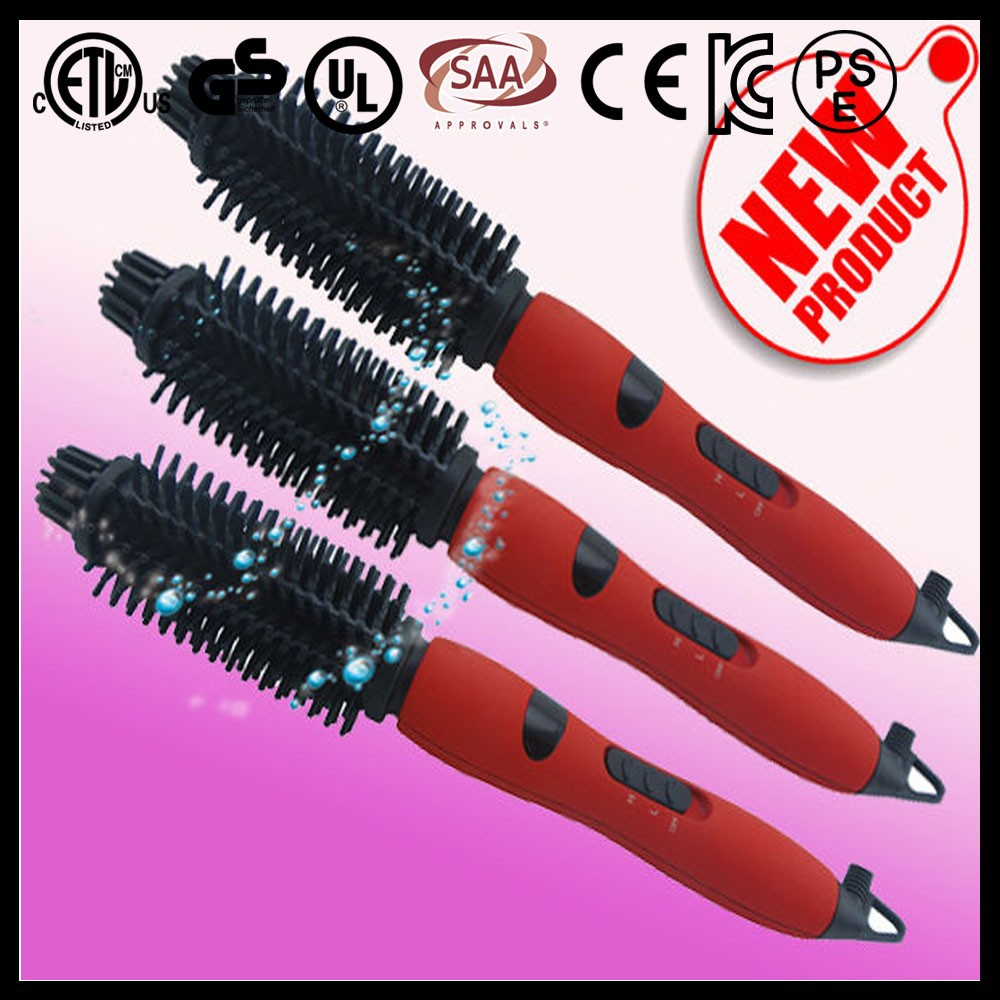 45W lcd screen round electric promotional hair brush price