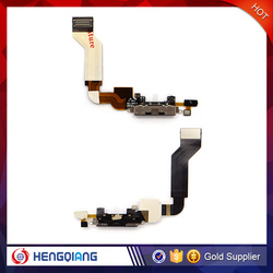 Dock Connector Charging Port Assembly Replacement Flex Cable for iPhone 4/4S