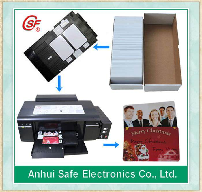 pvc business id card
