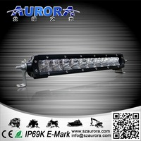 waterproof Single Row Light Bars Offroad/Truck/Tractor/Vehicle Auto Led light bar