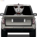 latest design personalized car high beam sticker decals waterproof custom car rear window decals made in vinyl