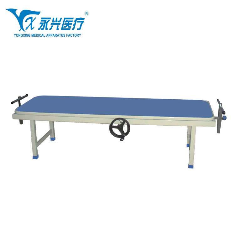 High Quality Manual Hospital Lumbar , Cervical Traction Bed Massage For Sale