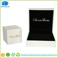 White Cardboard Small Ring box, Trinket Box,Jewelry Box Manufacturers China