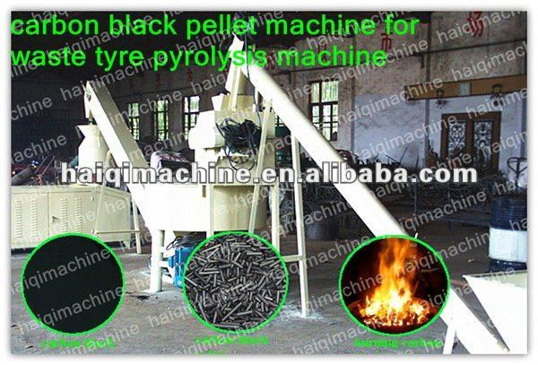 carbon black pellet from carbon black oil furnace