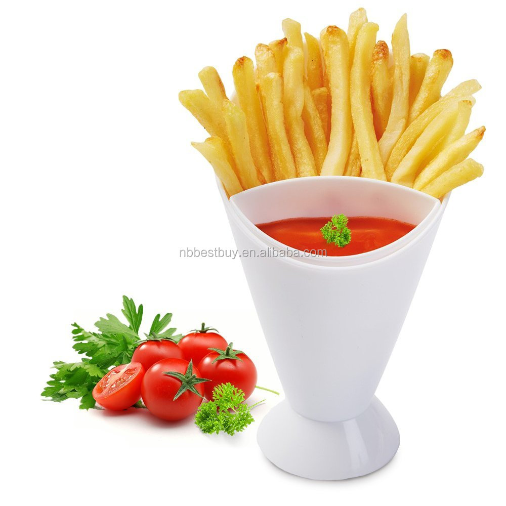 French Fries Salad Finger Food Dipping Cone Cup