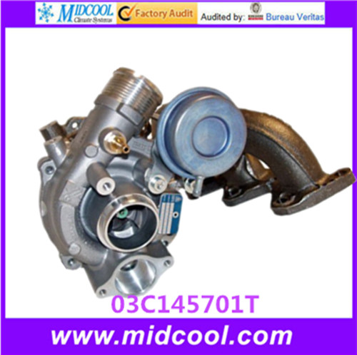 <strong>K03</strong> QUALITY TURBO <strong>TURBOCHARGER</strong> FOR VW 03C145701T 53039880099 53039700248