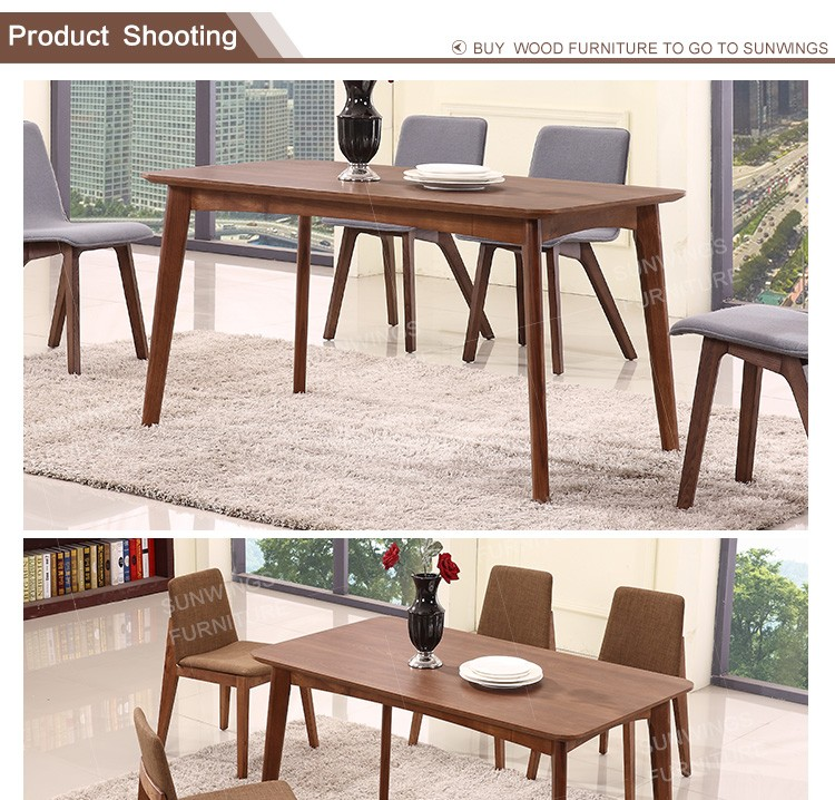 Best quality top service korean style wood dining table for Best quality dining tables