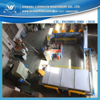 small capacity waste recycling plastic sorting machine/ Waste Plastic PE PP Film Washing Line