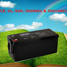 Good Quality Johnlite Sealed Rechargeable Lead Acid Battery 12V Rechargeable Valve Regulated Lead Acid Battery 160Ah