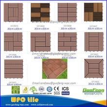 New design of WPC led solar light tiles