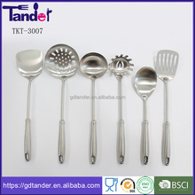 Tander stainless steel matt polish kitchen utensils set cooking tool kits