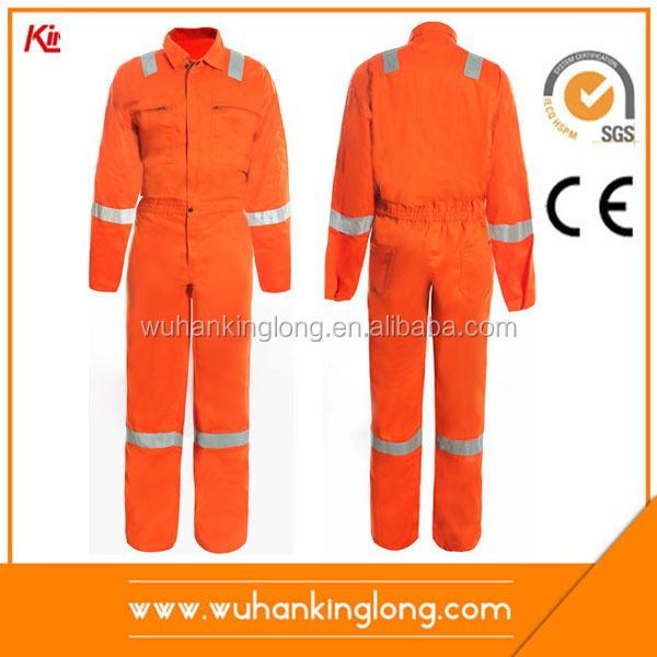 Customize Engineering Safety Uniform Embroidery Workwear Coverall