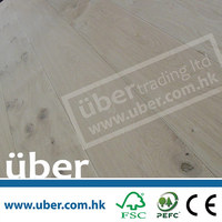 Unfinished (European White Oak timber) Engineered Wood Flooring