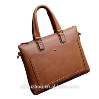 The new portable one shoulder classical retro style men bag leisure business PU leather men's bags wholesale