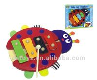 wooden Xylophone,animal wooden Piano for kids QS111004068