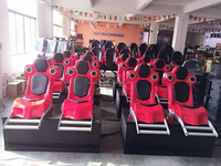 4D kino Type 5D Cinema Simulator for 12 persons Blue
