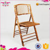 Wholesale outdoor portable bamboo folding chair with low price