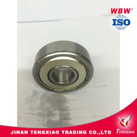 Top sale deep groove ball bearings 6301 ZZ