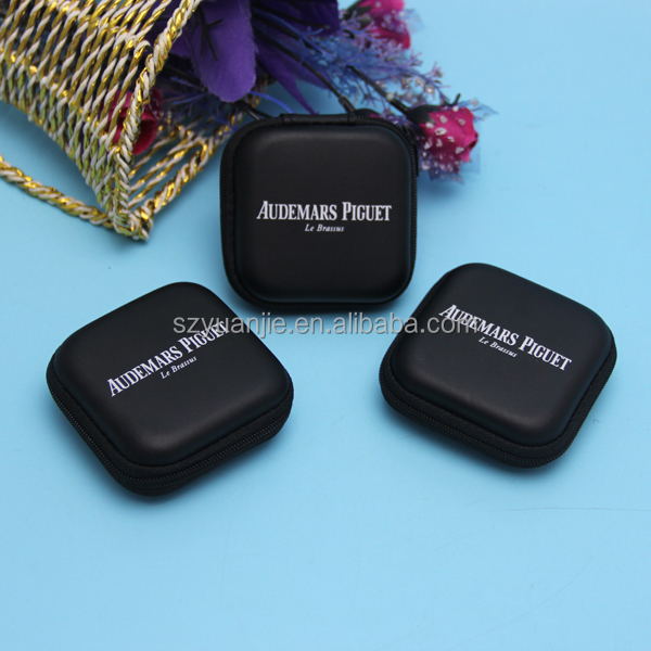 Headset Bluetooth Earphone Storage Box Soft Cases Mini Square Case