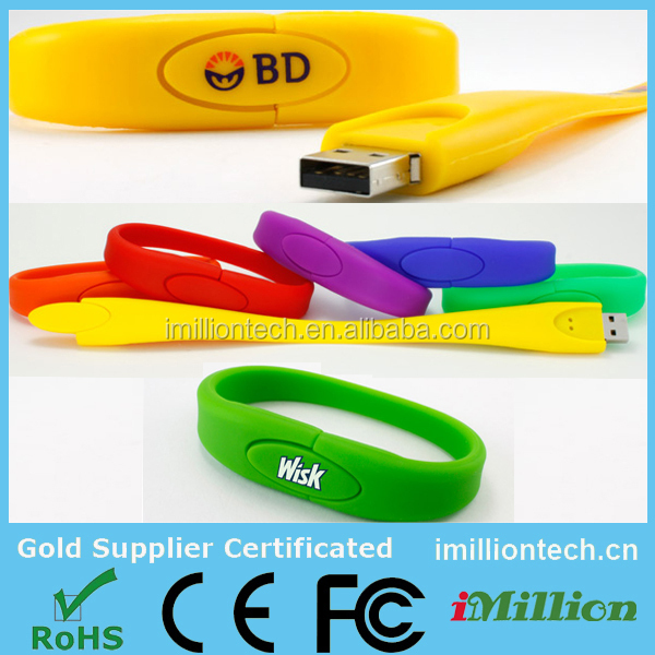 best selling bracelet usb flash drive logo printed,1gb usb flash drives bulk,unique design usb flash drive very cheap