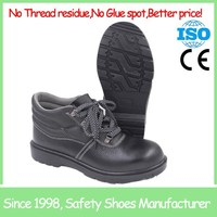 SF8119 rubber outsole cheap comfortable steel toe safety boots