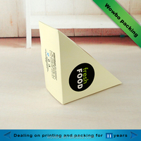 Triangle sandwich/bread packaging box