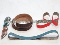 abrasive belt for wood metal stone Leather glass stainless steel