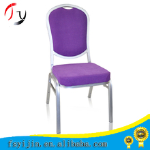 hot selling stacking hotel banquet chair with chair cover and table