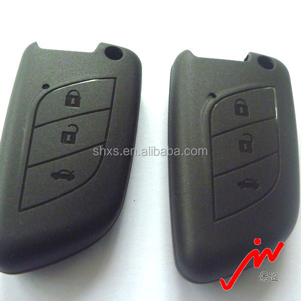 Non-toxic Newest Silicone Rubber Car Key Remote Sleeve