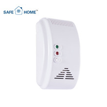 Hot Sale 12V LPG/Coal/Natural Gas Leak Detector with Shut-off Valve for Home Use