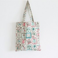 TT0038 Reshine Full Printing High Quality Cotton Canvas Tote Bag Shopping Bag Wholesale
