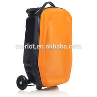 PC/EVA luggage buy golf buggy factory direct buy electric luggage scooter with 3 wheels